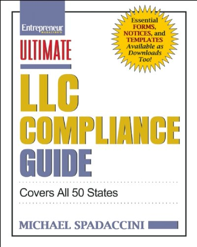 Ultimate LLC Compliance Guide: Covers All 50 States (Ultimate Series) PDF