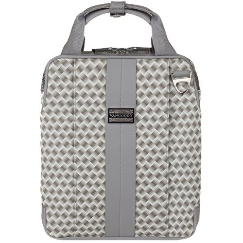 VanGoddy Melissa 11.6 to 12-inch Tablet Bag for HP Elite x2 1012 G1 & 1011 G1 (Argyle Grey) at Electronic-Readers.com
