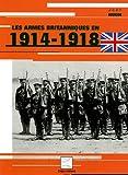 echange, troc Jean Huon - Les armes britanniques en 1914-1918