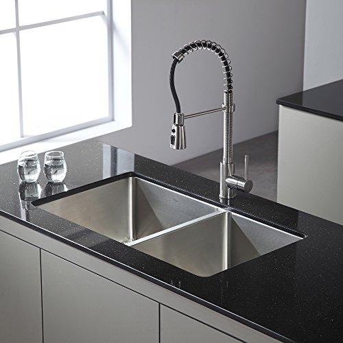 Kraus Kpf 1612 Single Lever Pull Down Kitchen Faucet Chrome Hardware Plumbing Plumbing Fixtures