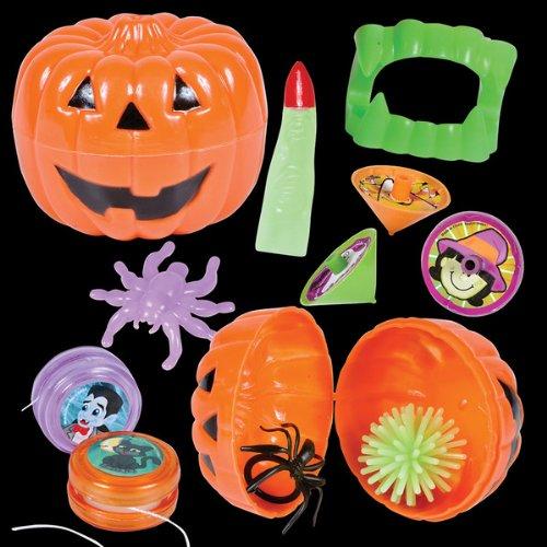 Toy Filled Halloween Jack-O-Lantern ~ 24 Jack-O-Lantern's per Order - 1