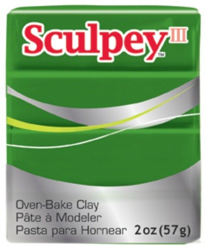 Sculpey Iii Polymer Clay 2 Ounces-Leaf Green front-140881