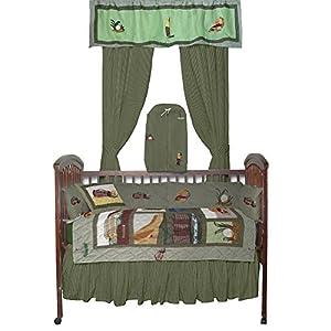 Amazon Com Patch Magic Golf Crib Bedding Home Amp Kitchen