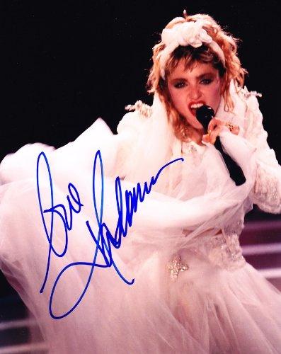 Madonna Signed Autographed 8 x 10 Photograph,