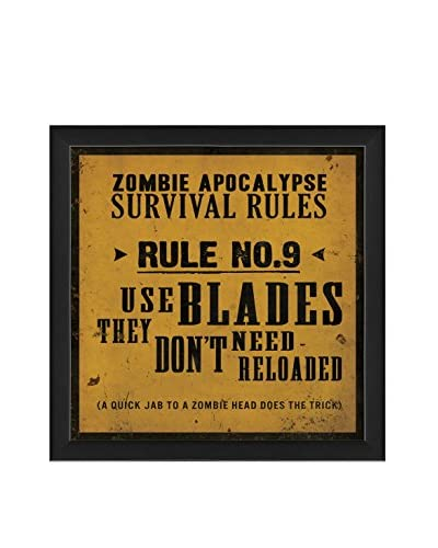 The Artwork Factory Survival Rule No. 9 Print