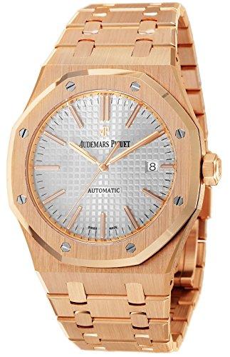 [オーデマ ピゲ]AUDEMARS PIGUET 腕時計 ロイヤルオーク シルバー文字盤 15400OR.OO.1220OR.02 メンズ 【並行輸入品】