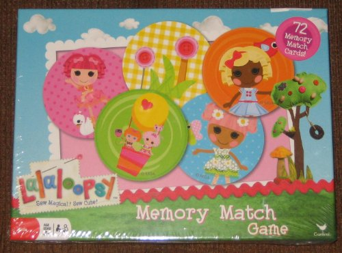 Lalaloopsy Match Edition of the original Memory Game