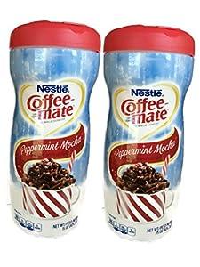 Nestle Coffeemate Peppermint Mocha Coffee Creamer 15 Oz (Pack of 2)