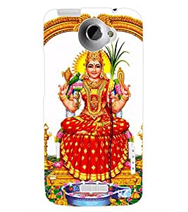 ColourCraft Lord Laxmi Back Case Cover for HTC ONE X