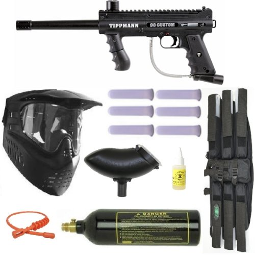 Tippmann 98 Custom PS Paintball Gun Marker MEGA Set