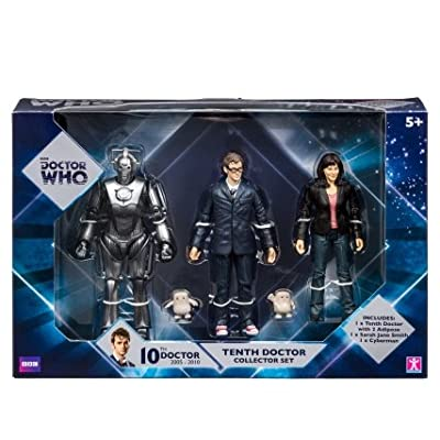 "Doctor Who 5"" Figures - 10th Doctor 3-pack"