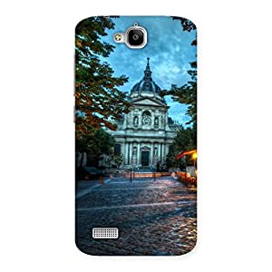Cute Fort Vintage Back Case Cover for Honor Holly