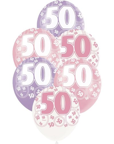 Opiniones de 6 globos de cumplea os 50 a os comprar en - Globos 50 anos ...