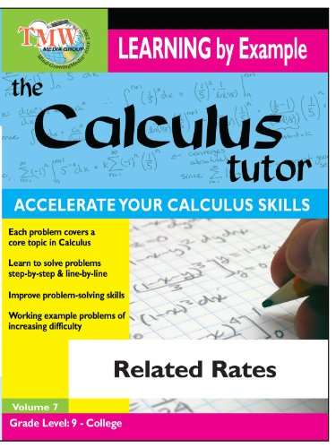 Calculus Tutor: Related Rates