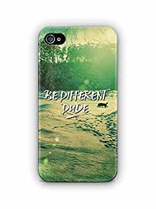 YuBingo Be Different Dude Designer Mobile Case Back Cover for Apple iPhone 4S