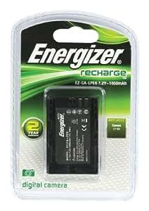 Energizer EZ-CA-LPE6 Chargeur Noir
