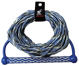 Buy AIRHEAD AHWR-3 Wakeboard Rope, 3 Section with 15 EVA Handle by Kwik Tek