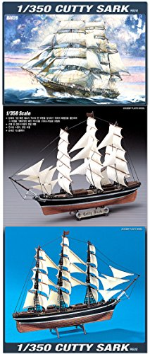Academy 1/350 Cutty Sark Sailboat Boat Ship Plastic Model Kit #14110 (Sailboat Model Kit compare prices)
