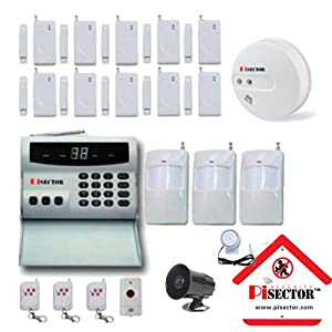 PiSector Wireless Home Security Alarm System Kit with Auto Dial S02-MX16