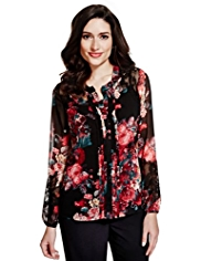Per Una Floral Shirt with Camisole