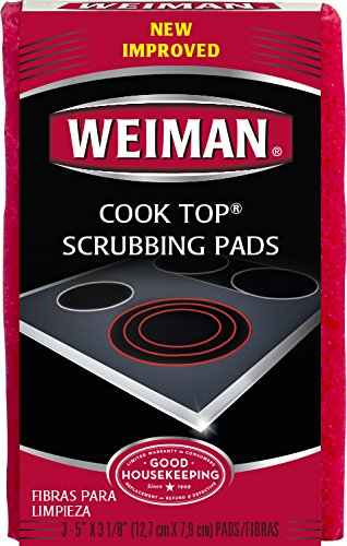 Weiman Cook Top Scrubbing Pads, 3 count (Smooth Top Cooktop compare prices)