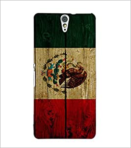 PrintDhaba Multicolour Pattern D-6099 Back Case Cover for SONY XPERIA C5 ULTRA (Multi-Coloured)