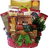 Art of Appreciation Gift Baskets   Festive Favorites Christmas Holiday Basket