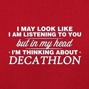 In My Head I'm Decathlon - Kids Unisex Fit Apron - 4 Colours