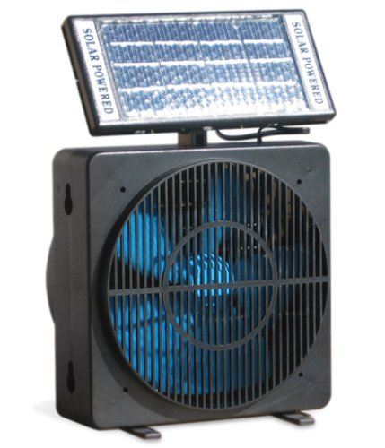 Window exhaust fans for bathroom - Solar powered bathroom exhaust fan ...