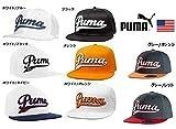 【USモデル】PUMA プーマ Script Coolcell スナップバック キャップ (グレー/レッド)