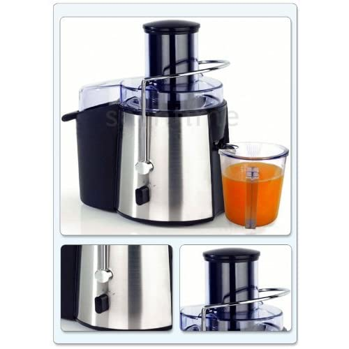 SALE PRICE ELECTRIC POWERFUL PROFESSIONAL WHOLE FRUIT VEGETABLE JUICER JUICE EXTRACTOR *APPROVED BY FUSION FOODCARE*