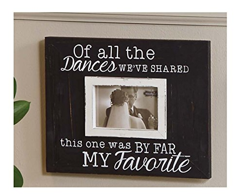 Mud Pie Favorite Dance Wooden Photo Frame