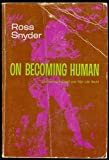 img - for On Becoming Human book / textbook / text book