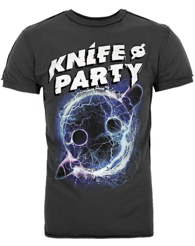 Amplified Knife Party No Modern Talking Men'S T-Shirt (Xs)