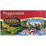 Peppermint Tea Celestial Seasonings 20 Bag