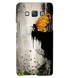 ColourCraft Angel World Design Back Case Cover for SAMSUNG GALAXY A8