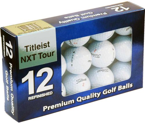 Titleist NXT Tour Mint Refinished Official Golf Balls,12-Pack