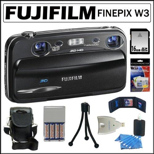 Fujifilm FinePix Real 3D W3 10MP Digital Camera