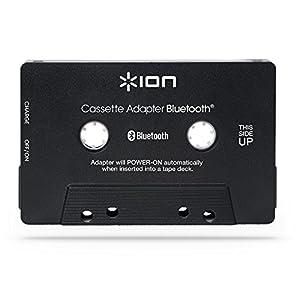 Ion Audio Bluetooth Cassette Adapter | Wiederaufladbarer Bluetooth Musikempfänger für alle Kassettendecks