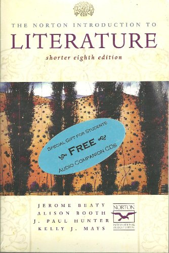 The Norton Introduction to Literature: Shorter Internation Student Edition