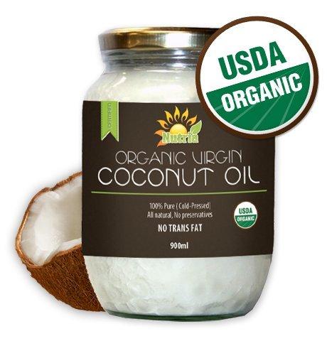 Nutria Virgin Organic Coconut Oil (32 oz)