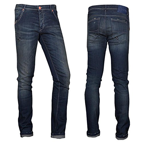 PURPLE Herren Jeans Montecarlo 079 Regular Fit Old Dark Wash LD-5 W35