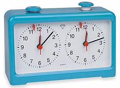 Diamond Quartz Chess Clock - Blue
