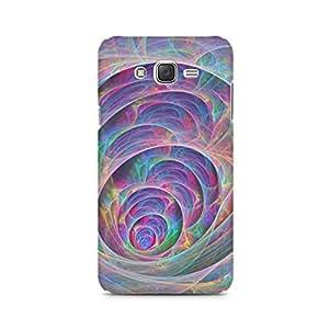 Mobicture Pattern Premium Designer Mobile Back Case Cover For Samsung J1