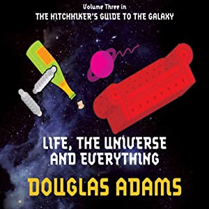 life the universe and everything audiobook douglas adams. Black Bedroom Furniture Sets. Home Design Ideas