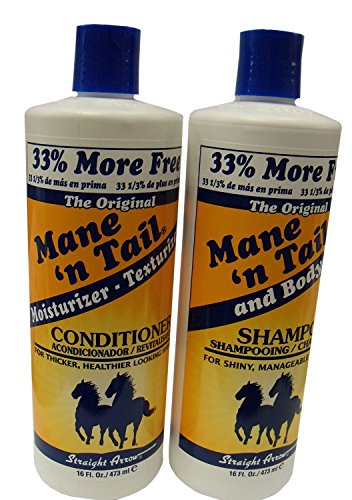 Mane 'n Tail Original Shampoo & Conditioner,16 oz each (Mane N Tail Shampoo Conditioner compare prices)