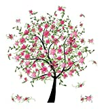 Hon2B|#Home Dcor Line CR-81147 Flowering Tree Wall Decals,