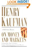 On Money and Markets: A Wall Street Memoir
