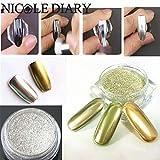 NICOLE-DIARY-1gbox-Mirror-Powder-Gold-Silver-Pigment-Nail-Glitter-Nail-Art-Chrome