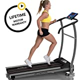 X-LITE I TREADMILL - SUPER COMPACT / SUPER LITE - 750W Powerful Motor - 10KPH - 8 Pre-Set Interval Training Programs - 1 Manual Program - 10% Fixed Incline - Towel Rail - Motorised Folding Fitness Running Machine